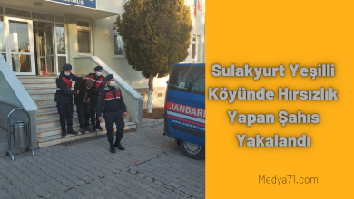 Photo of Sulakyurt Yeşilli Köyünde Hırsızlık Yapan Şahıs Yakalandı