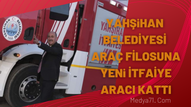 Photo of Yahşihan Belediyesine Yeni İtfaiye Aracı