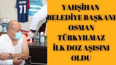 Photo of Osman Türkyılmaz İlk Doz Aşısını Oldu