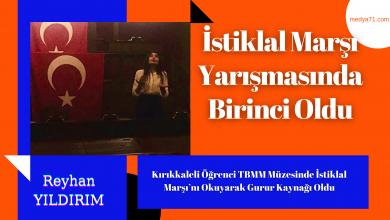Photo of Kırıkkaleli Öğrenci TBMM Müzesinde İstiklal Marşı'nı Okuyarak Gurur Kaynağı Oldu