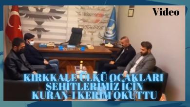 Photo of Kırıkkale Ülkü Ocakları Şehitlerimiz İçin Kuran-ı Kerim Okuttu