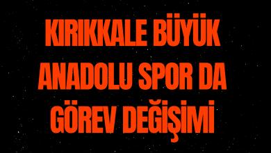 Photo of Kırıkkale Büyük Anadoluspor Beklenen İstifa