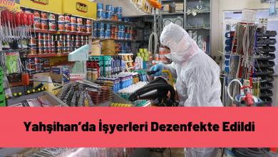Photo of Yahşihan'da İşyerleri Dezenfekte Edildi