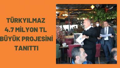 Photo of Türkyılmaz 4,7 Milyon Tl lik Büyük Projesini Tanıttı