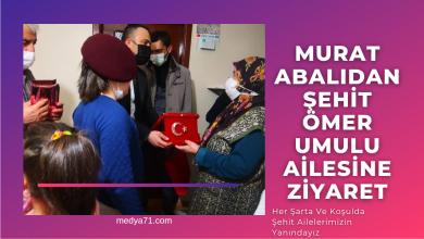 Photo of Murat Abalı ; Her şartta ve koşulda şehit ailelerimizin yanındayız