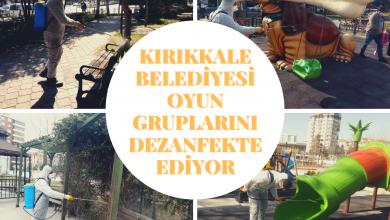 Photo of Kırıkkale Belediyesi Dezanfekte İşlemine devam diyor