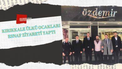 Photo of Kırıkkale Ülkü Ocakları Başkanı Tuner Alp Tekin Esnaf Ziyareti Yaptı.