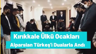 Photo of Kırıkkale Ülkü Ocakları Başbuğ Alparslan TÜRKEŞ'i Andı