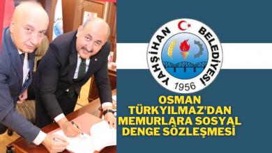 Photo of Osman Türkyılmaz Yerel Hizmet Sen ile 2021 yılı için memurlara Sosyal Denge Tazminatı ödenmesi Sözleşmesi İmzaladı