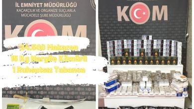 Photo of Kom Şube Müdürlüğü Tütün Kaçakçılığı Yapan Şahıslar İçin Operasyon Yaptı