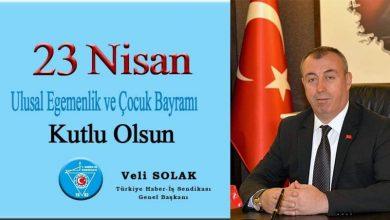 Photo of Haber İş Sendikası 23 Nisan Kulama Mesajı