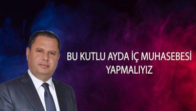 """Photo of MHP'li Öztürk: """"Bu kutlu ayda iç muhasebesi yapmalıyız"""""""