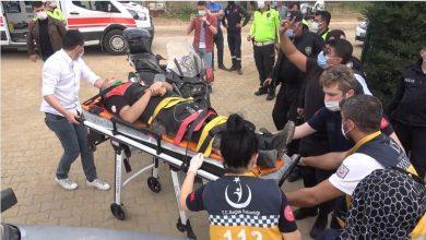 Photo of 17 yaşındaki ehliyetsiz sürücü dehşet saçtı: 2 polis memuru yaralandı