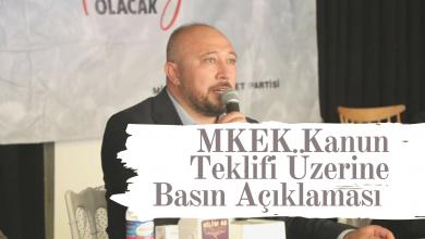 Photo of Baloğlu,Mkek Kanun Teklifi Üzerine Basın Açıklaması