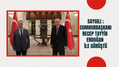 Photo of Mehmet Saygılı Cumhurbaşkanlığı Kuliyesinde Cumhurbaşkanı Recep Tayyip Erdoğan ile görüştü