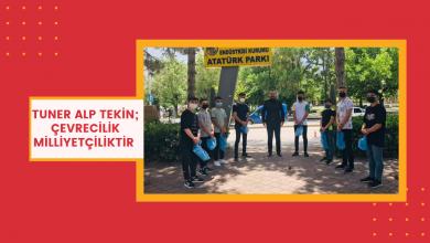 Photo of Tuner Alp Tekin; Çevrecilik Milliyetçiliktir