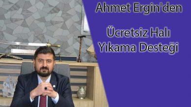 Photo of Ahmet Ergin'den Ücretsiz Halı Yıkama Desteği