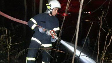 Photo of Kırıkkale Valiliği İl Özel İdaresi Bahçesinde yangın Çıktı