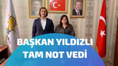Photo of BAŞKAN YILDIZLI TAM NOT VEDİ