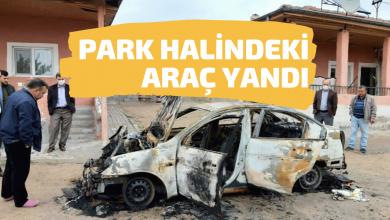 Photo of Karakeçili İlçesinde Park Halindeki Araç Yandı