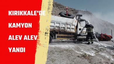 """Photo of Kamyon Alev Alev Yandı """"video"""""""