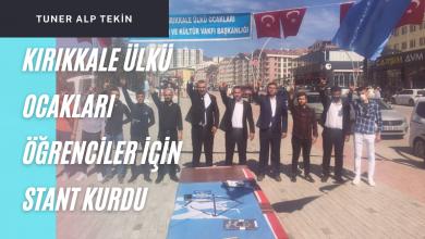 Photo of Kırıkkale Ülkü Ocakları Öğrencilere Yardımcı Olmak İçin Stant Açtı
