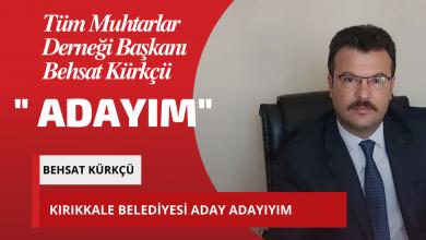 """Photo of Tüm Muhtarlar Derneği Başkanı Behsat Kürkçü; """"Adayım"""""""