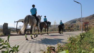 Photo of Kırıkkale'de atlı birlik görev başında