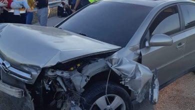 Photo of Otomobil Bariyere Çarptı